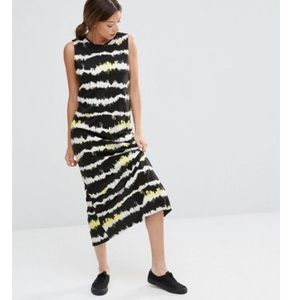 Cheap Monday Also Dress Moon Black Open Back Maxi